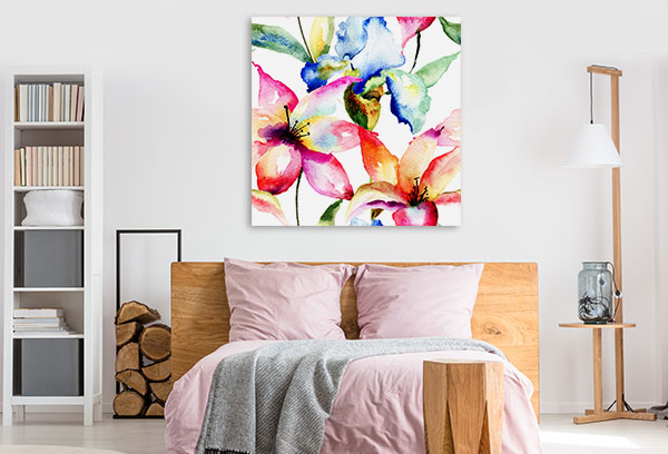 Lily and Iris Wall Art