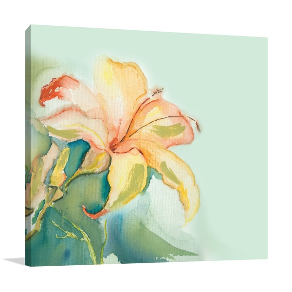 Lily Print Artwork