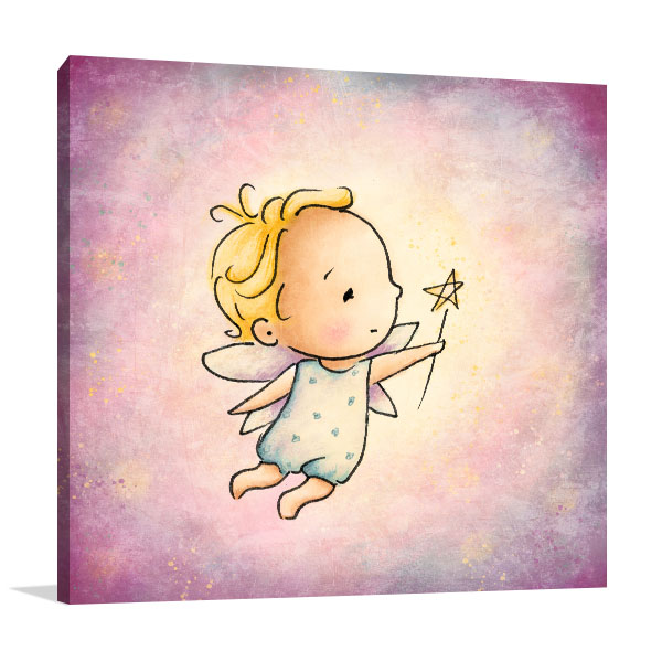 Little Fairy Canvas Prints