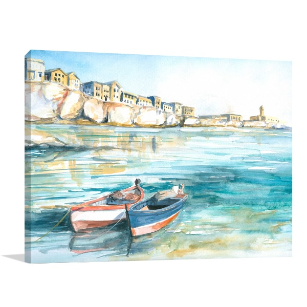 Little Village Canvas Artwork