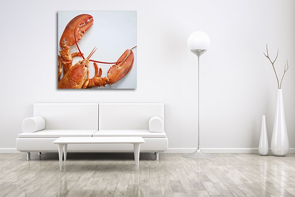 Lobster Prints Canvas