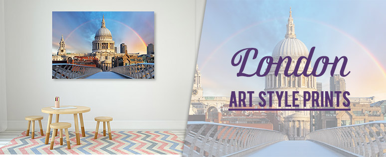 London Art Style Prints From Lounge Room Designs