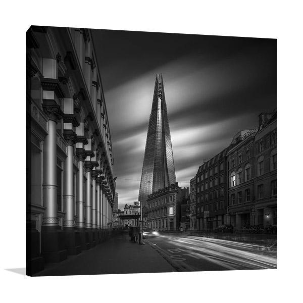 London Black and White Wall Print