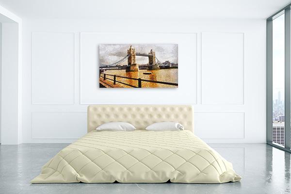 London Bridge Realistic Prints Canvas