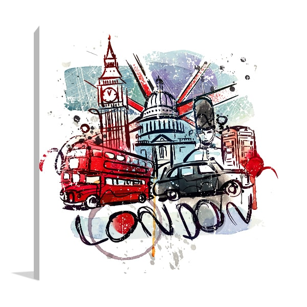 London Sketch Artwork