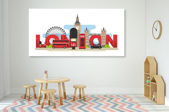 London Tourist Canvas Prints