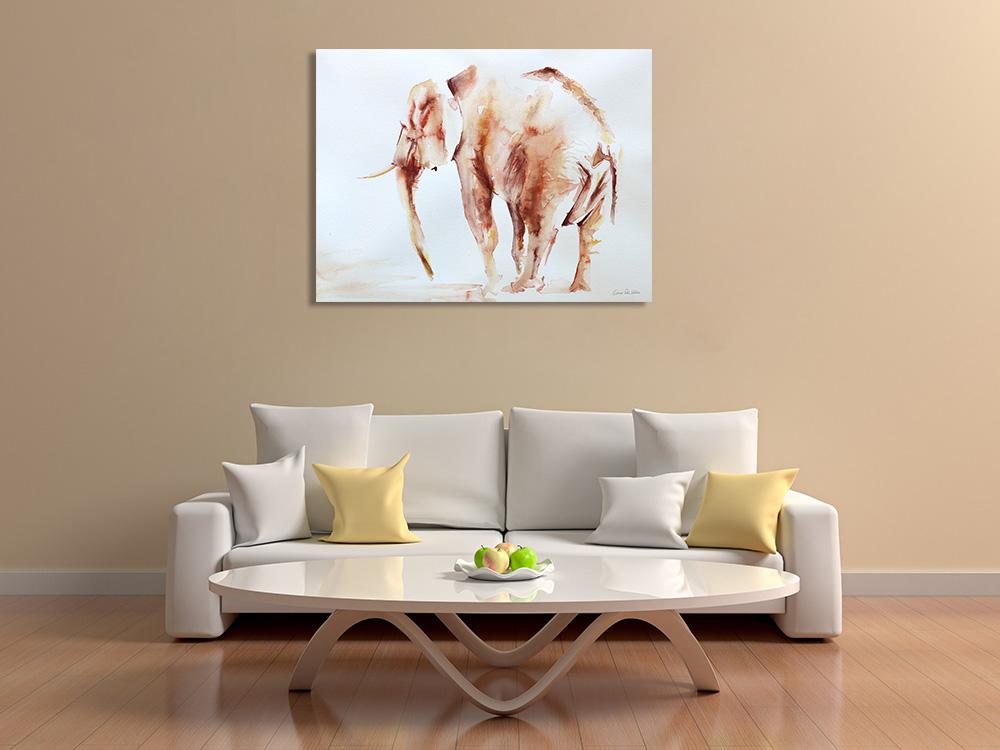 Animal Art Print on Canvas