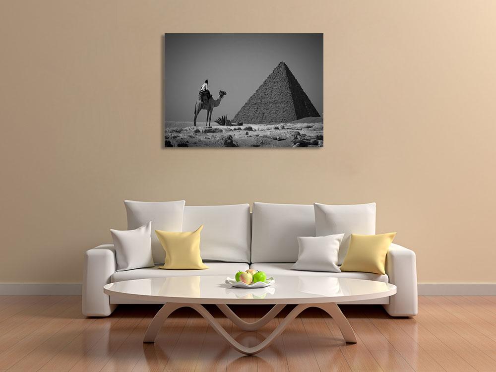 Print Landscape Black and White