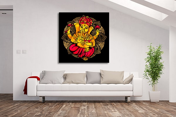 Lord Ganesh Canvas Prints