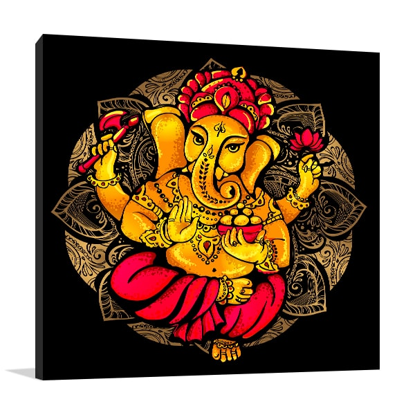 Lord Ganesh Wall Art