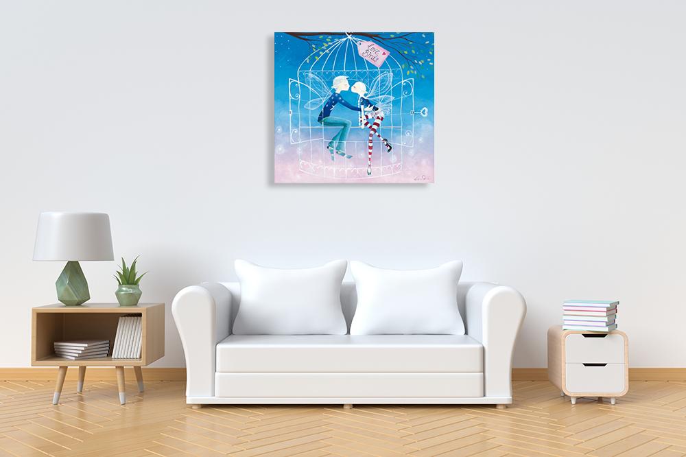 Fantasy Art Print on Canvas