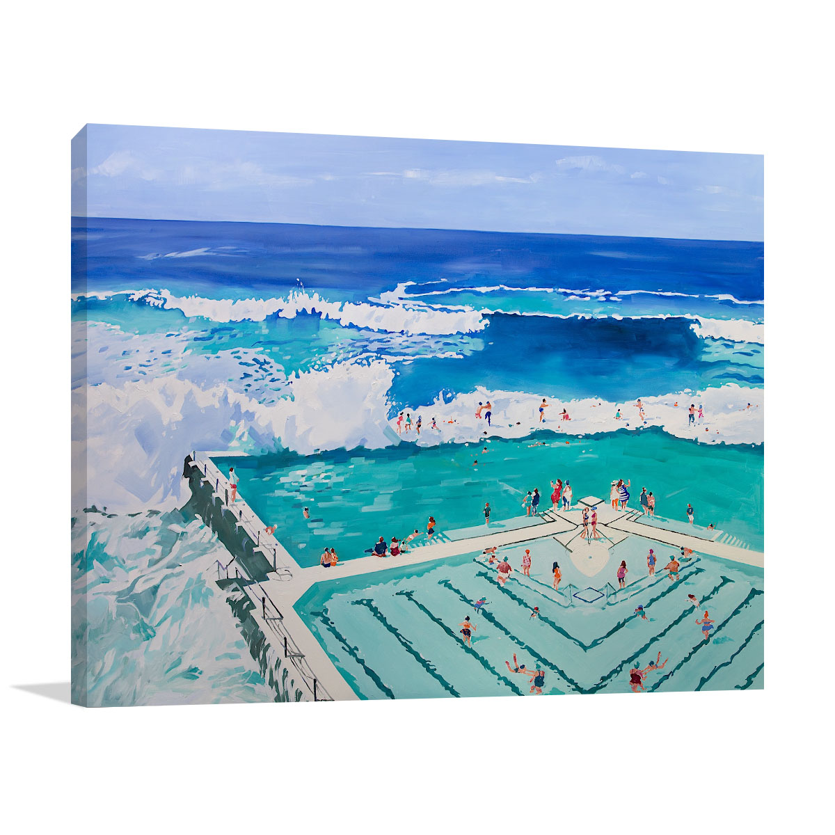 Love Life, Summer Paintings | Li Zhou Prints | Australia Wall Art