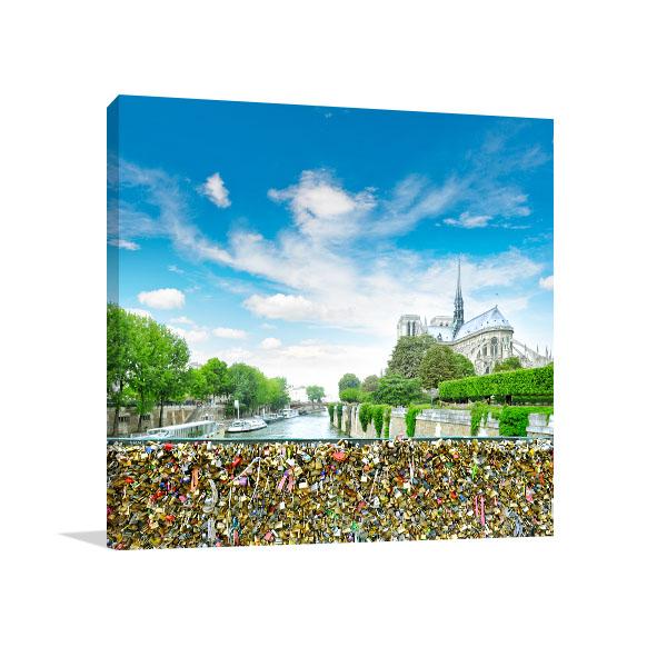 Love Locks in Notre Dame Art Prints