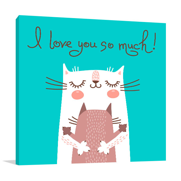 Lovely Cats Art Prints
