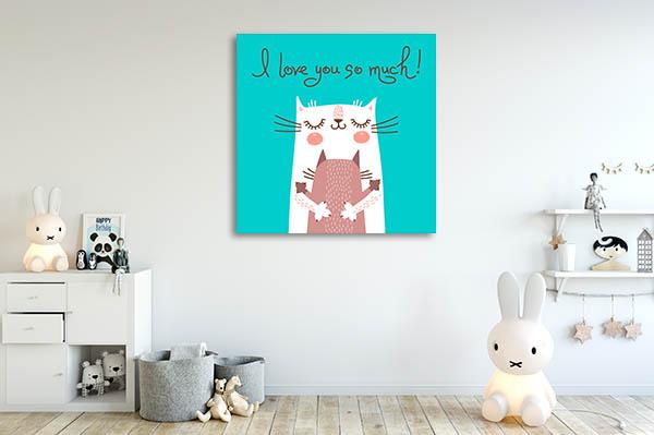 Lovely Cats Print Artwork