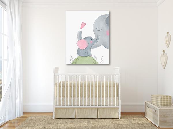 Loving Mom Prints Canvas
