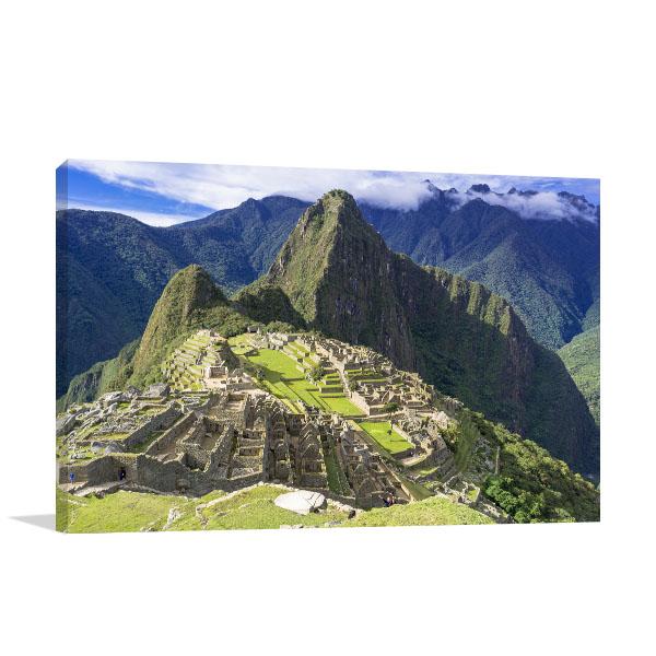 Machu Picchu Print Artwork