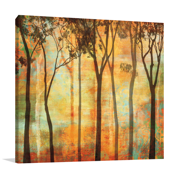 Magical Forest I Wall Art Print