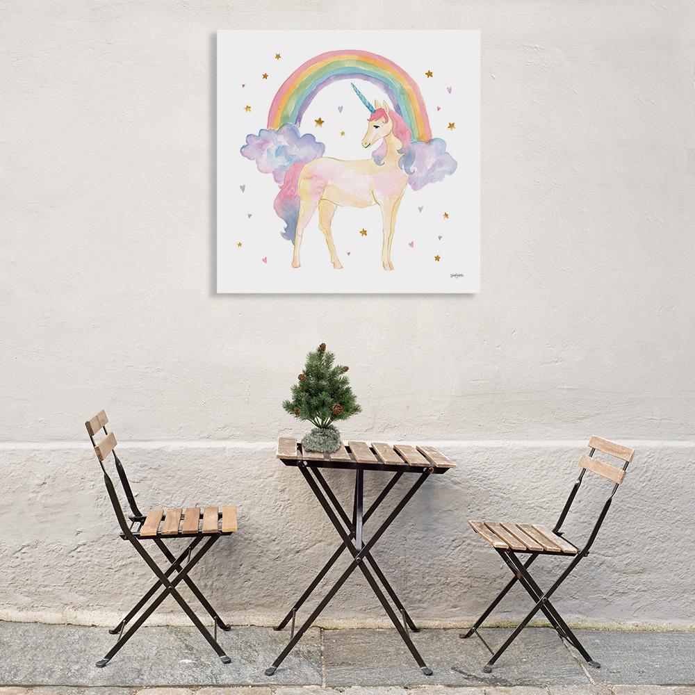 Kids Room Art Print on Canvas
