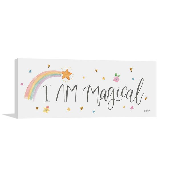Magical Friends VI Wall Art Print