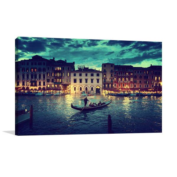 Majestic Grand Canal Canvas Art Prints