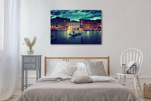 Majestic Grand Canal Prints Canvas