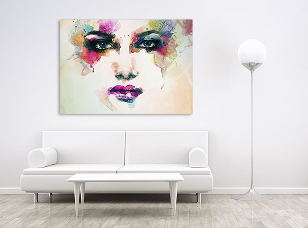 Makeup For Party Canvas Art Print