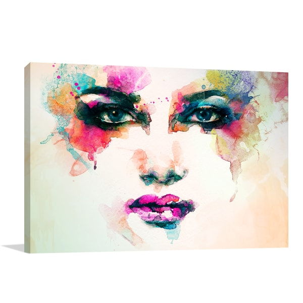 Makeup For Party Canvas Artwork