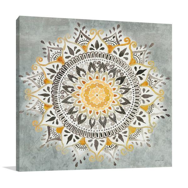 Mandala Delight I Wall Art on Canvas