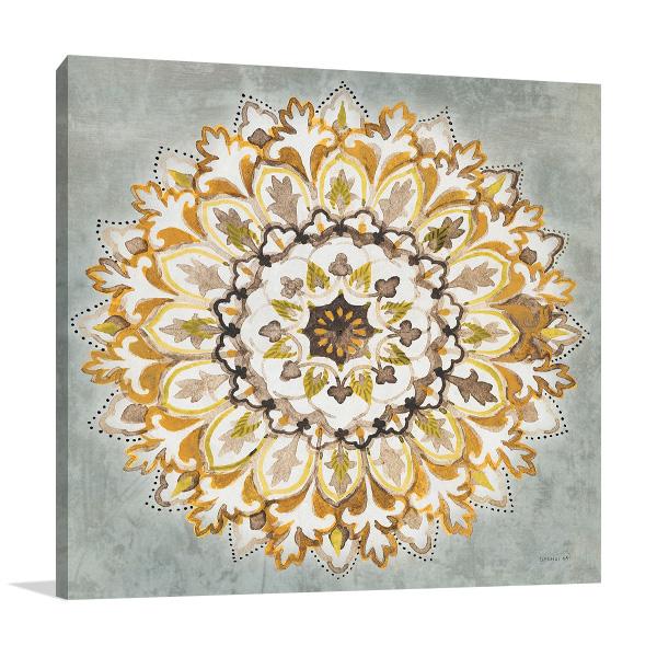 Mandala Delight II Print on Canvas