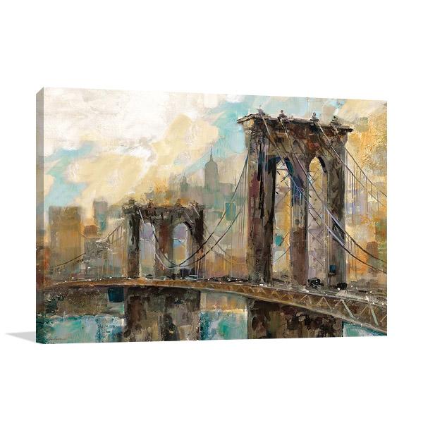 Manhattan Canvas Print | Ruane Manning