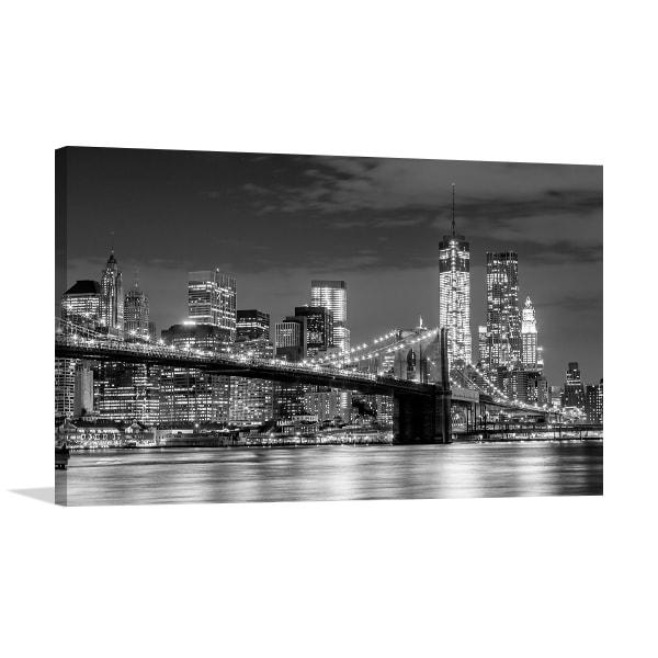 Manhattan Skyline Print Artwork