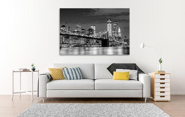 Manhattan Skyline Prints Canvas