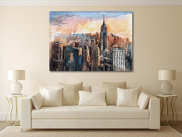 Manhattan Skyscrapers Art Prints