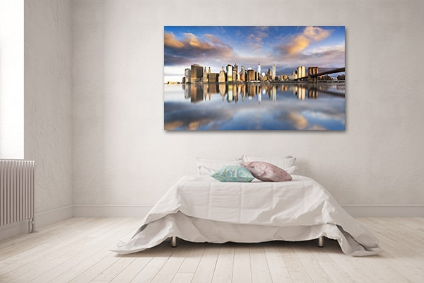 Manhattan Sunrise Prints Canvas