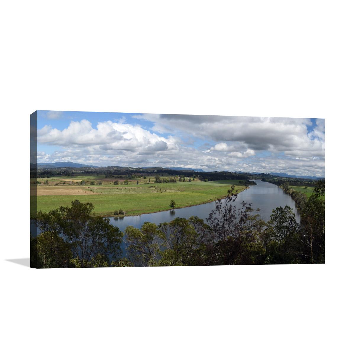 Manning Valley Art Print Taree View
