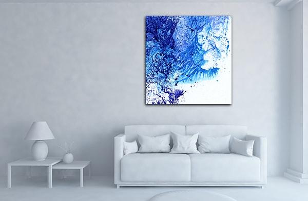 Marble Imitation Canvas Prints