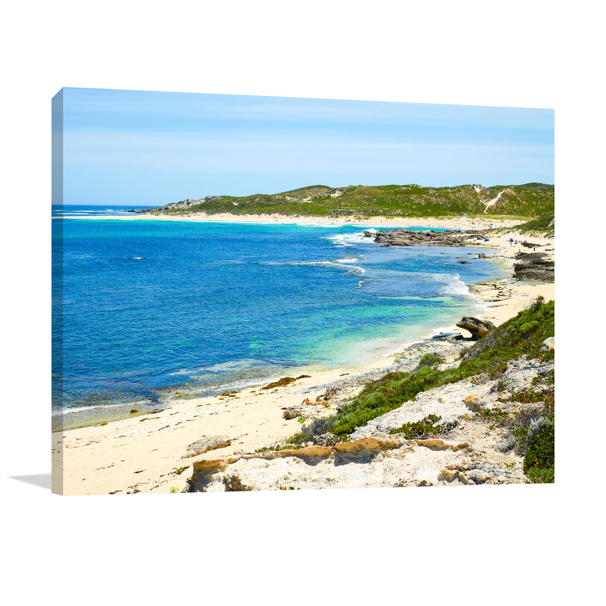 Margaret River Art Print View of Surfers Point