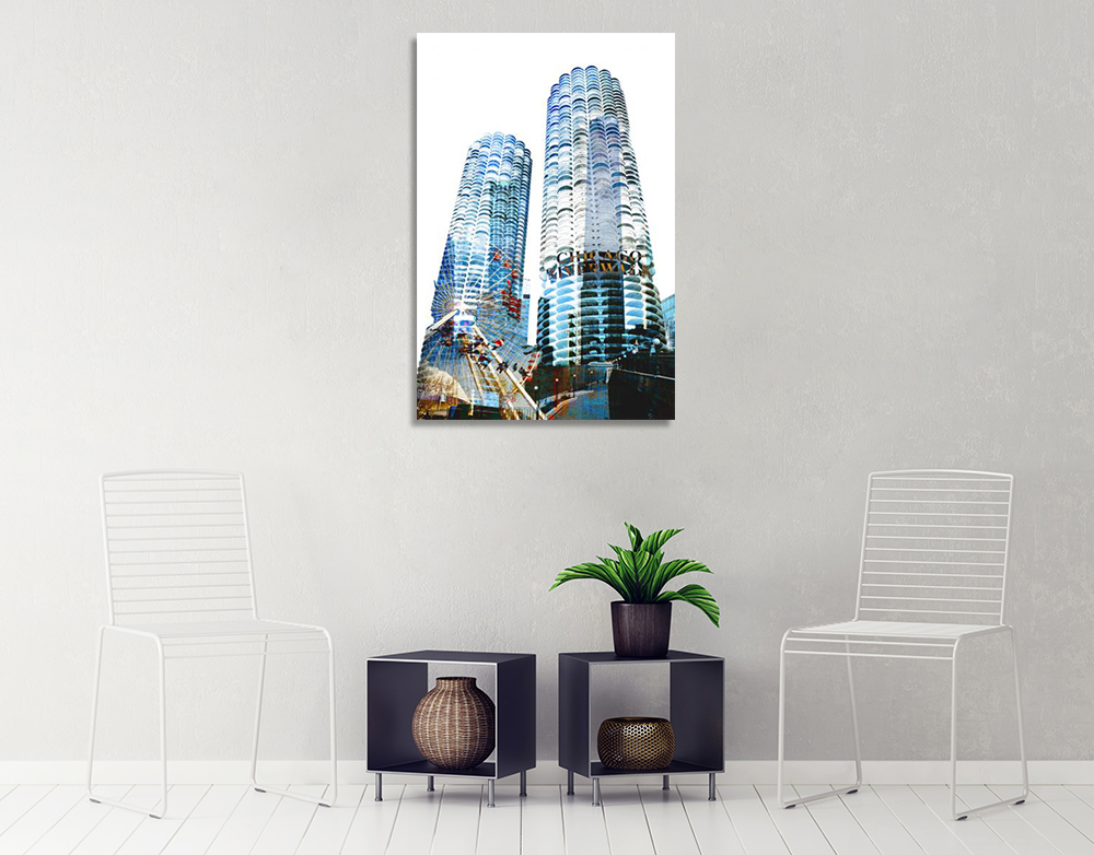 Architectural Wall Art on Canvas