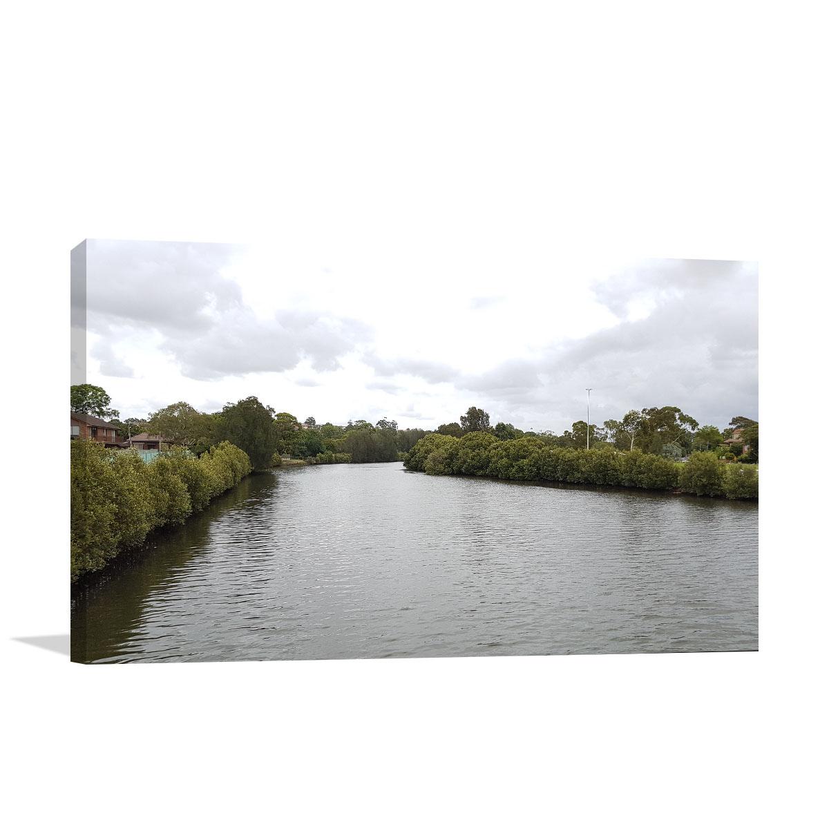 Marrickville Art Print Cooks River