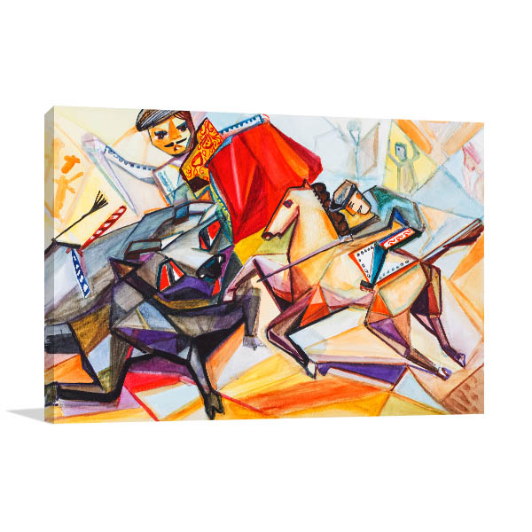 Matador on a Horse Art Prints
