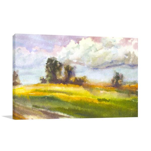 Meadow July Prints Canvas
