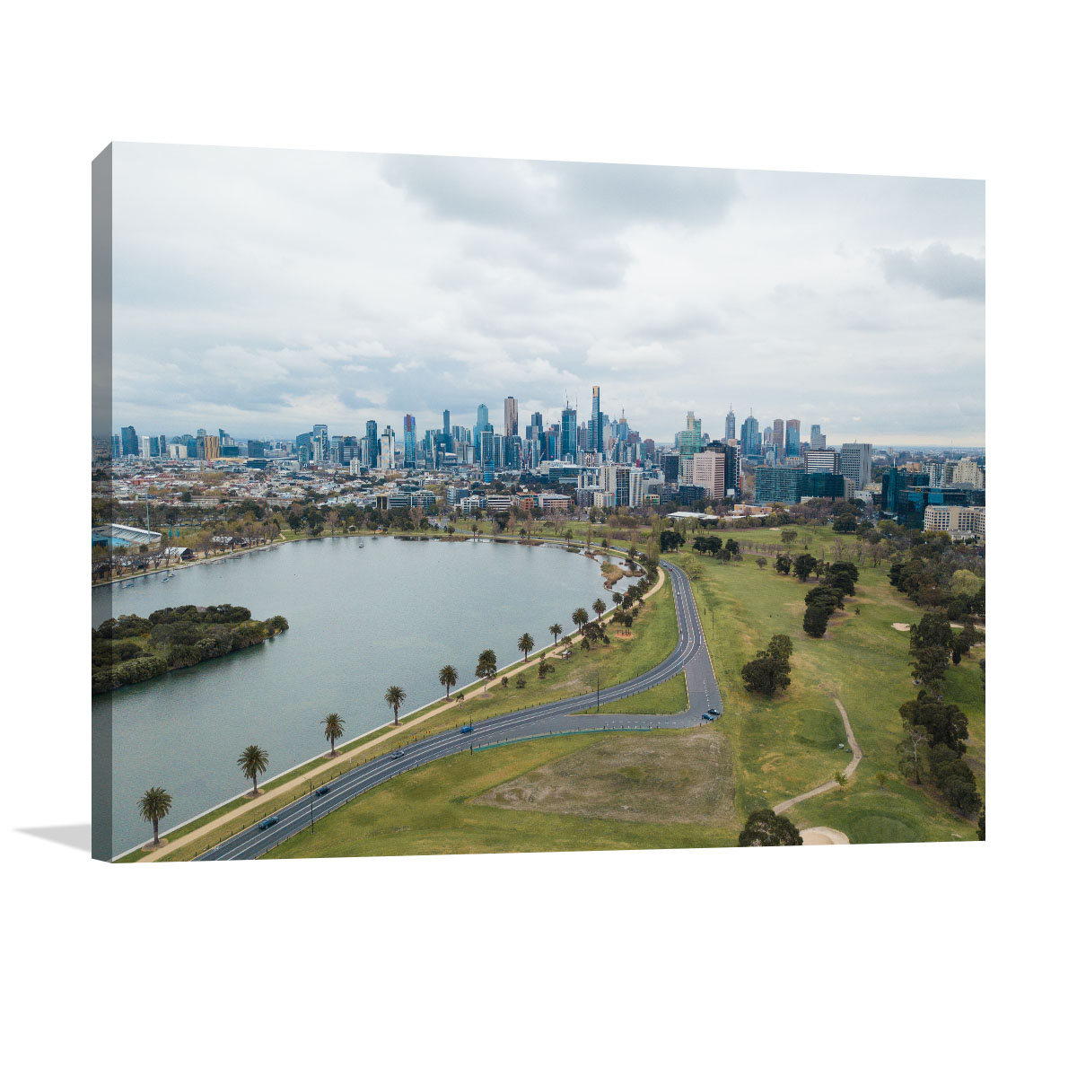 Melbourne Art Print Albert Park