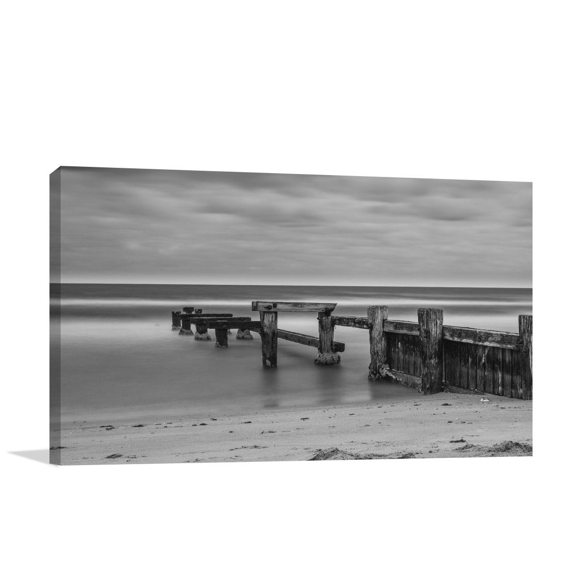 Melbourne Art Print Mentone Beach Jetty