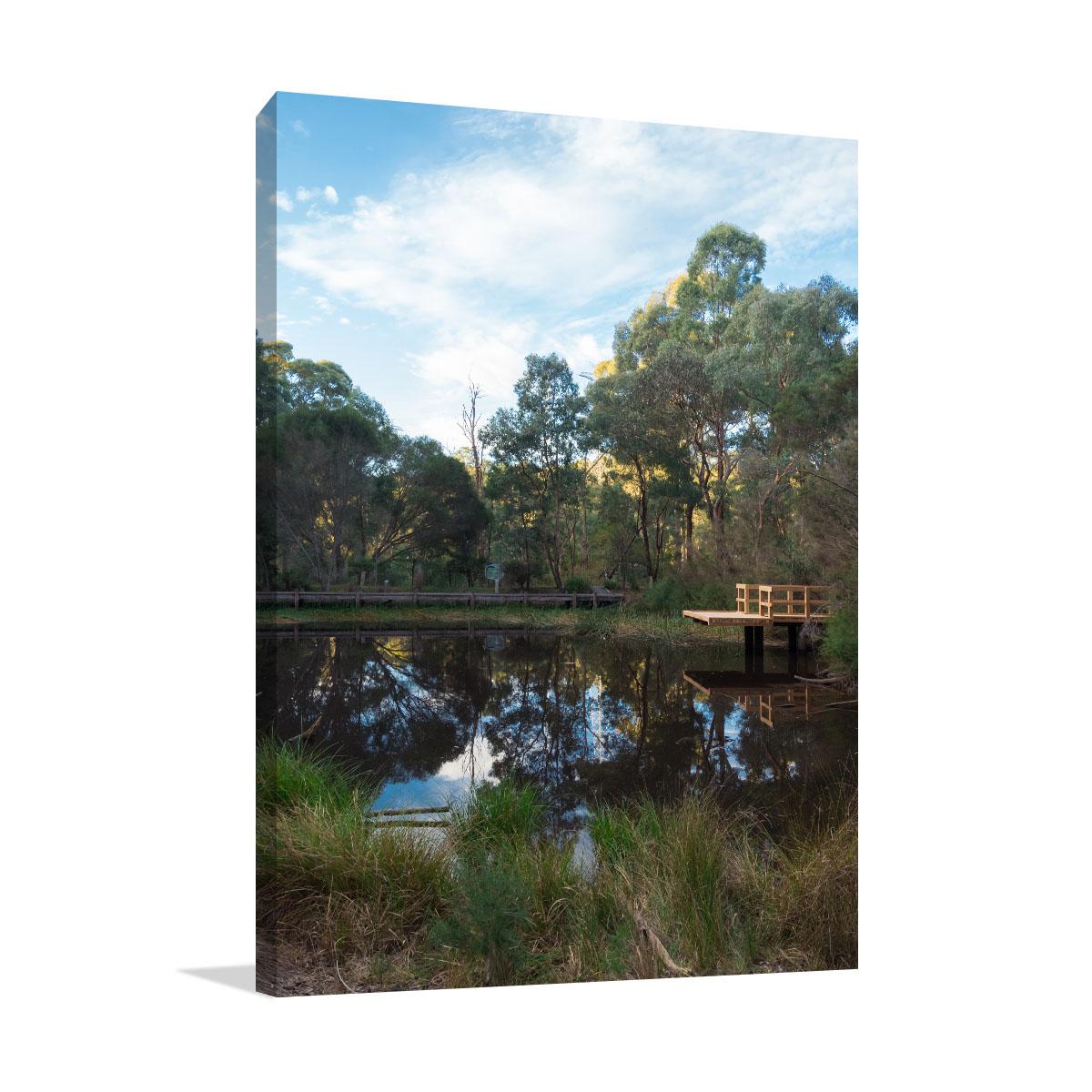Melbourne Art Print Millers Pond