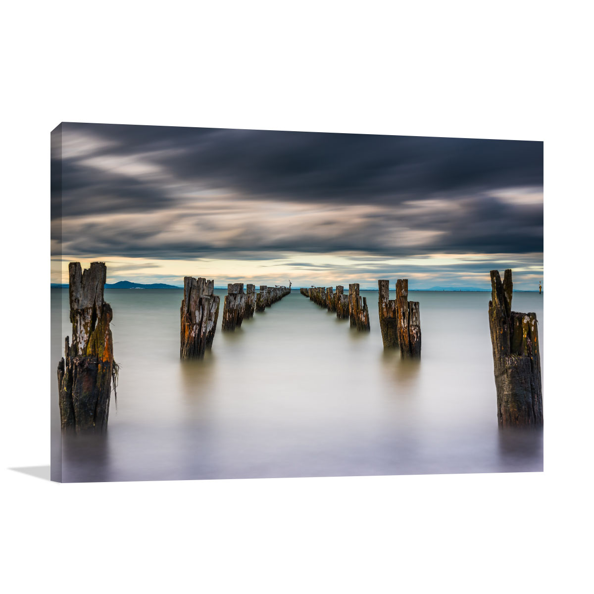 Melbourne Art Print Old Pier Clifton Springs