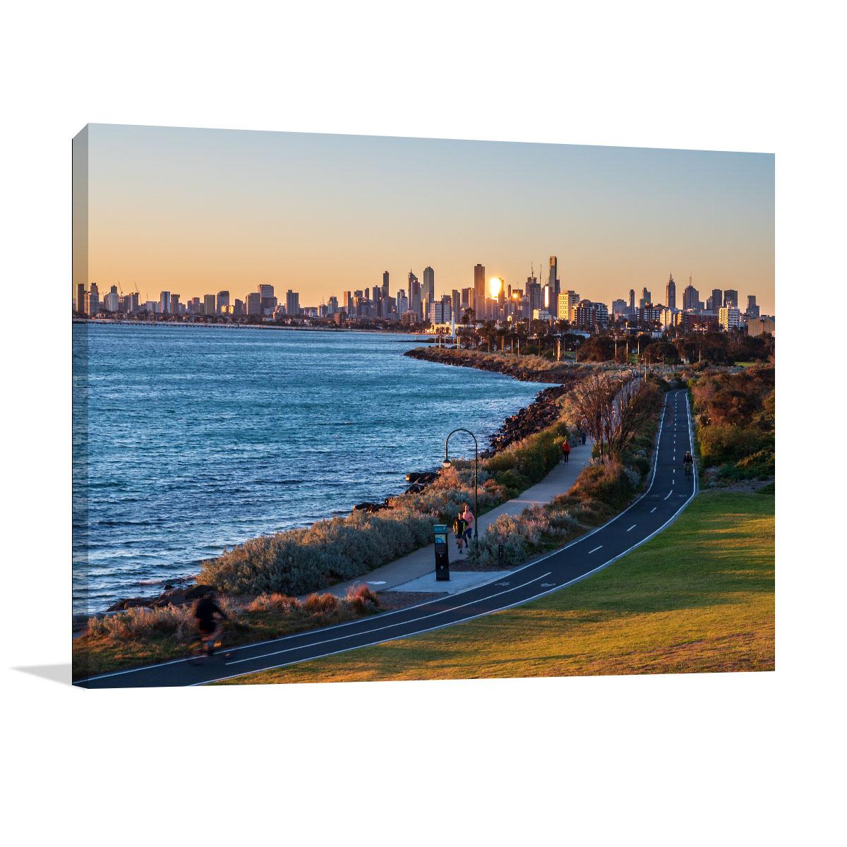 Melbourne Art Print Ormond Point