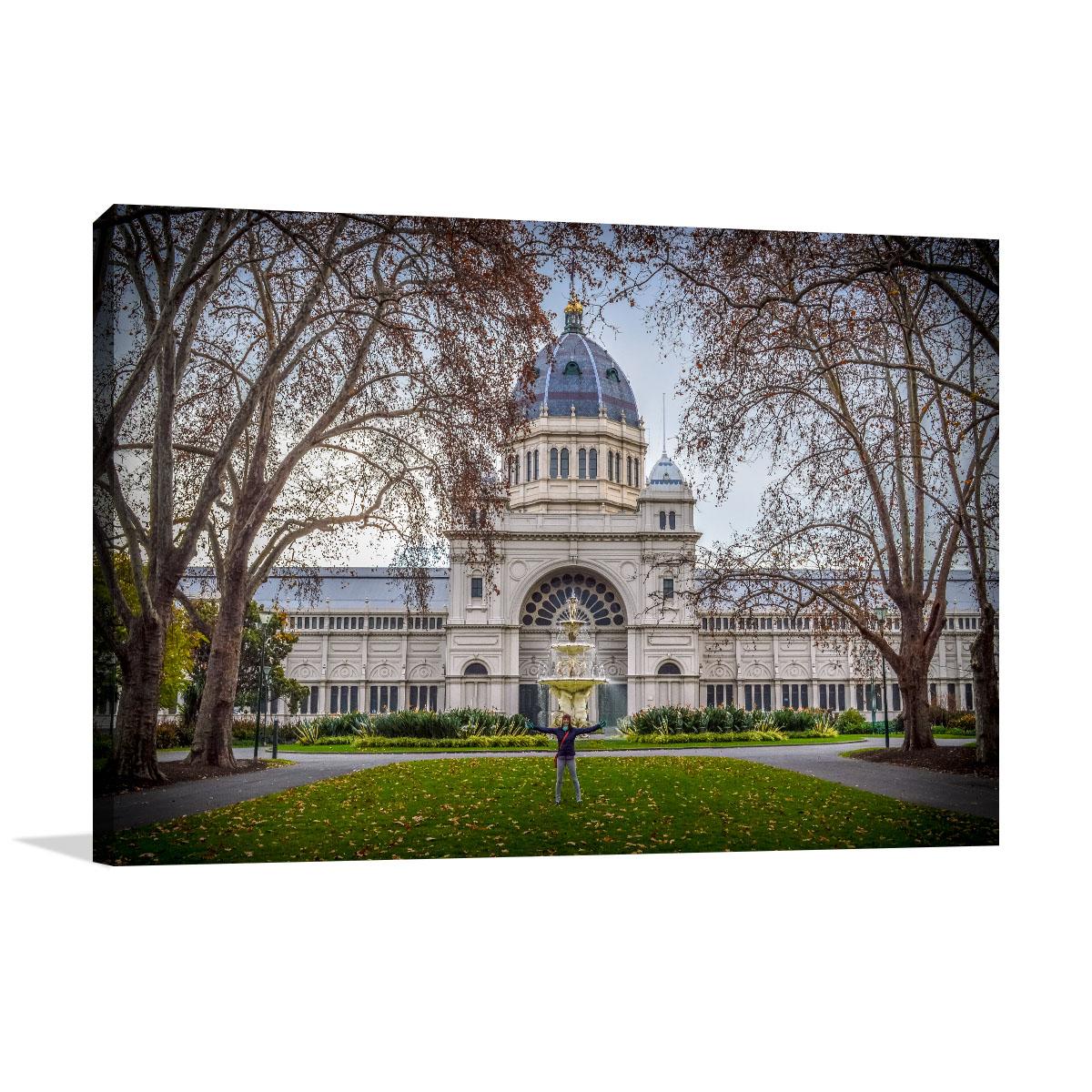 Melbourne Art Print Royal Exhibition Center