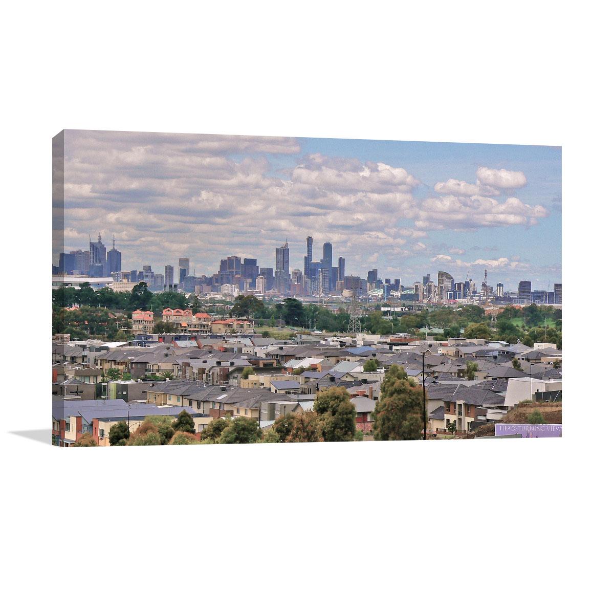 Melbourne Art Print Skyline Maidstone