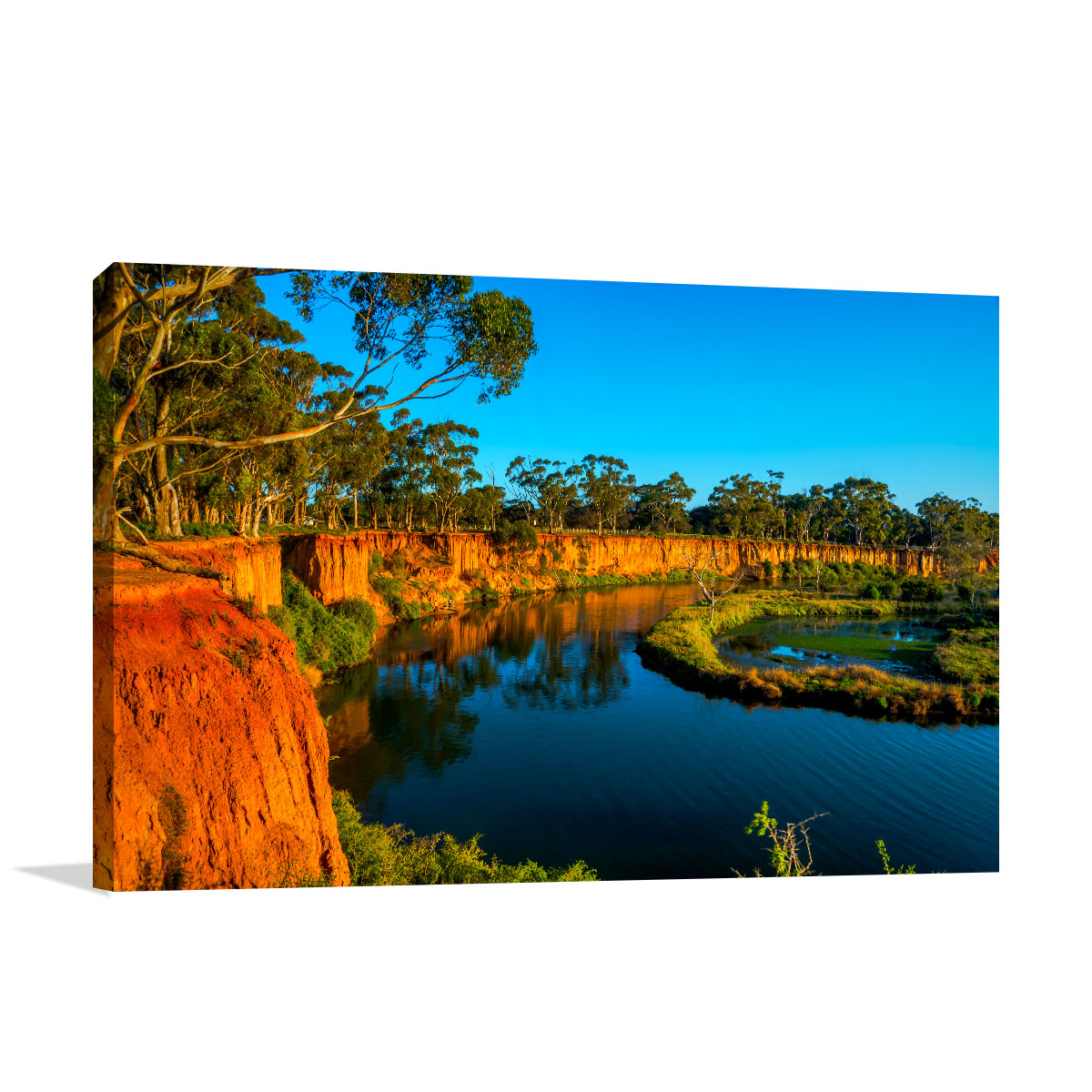 Melbourne Art Print Werribee River